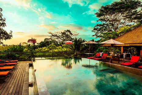 Jungle Retreat Ubud - Five Star 4 nights Stay in a Deluxe Suite - Save 0%