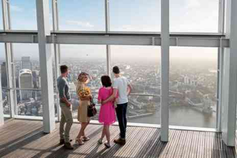 Shard Viewing Gallery Management - The View from The Shard Flexible Ticket - Save 23%