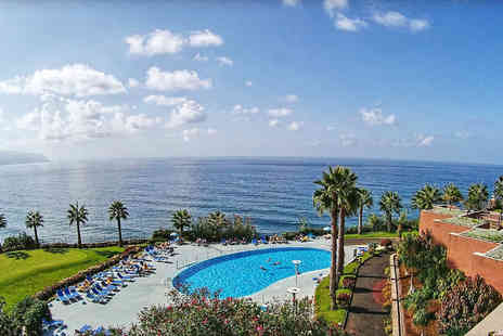 Tour Center - Three, Five or Seven night 4 Star Madeira spa break with flights - Save 31%