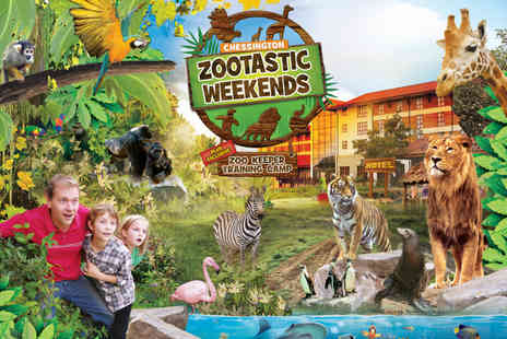 Chessington World of Adventures Resort - Overnight Zootastic weekend for a family of up to four with two day entry - Save 25%