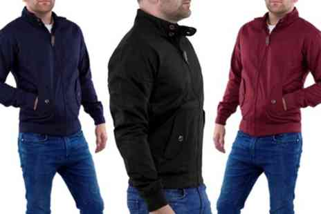 Groupon Goods Global GmbH - Mens Harrington Jacket in Choice of Colour - Save 32%