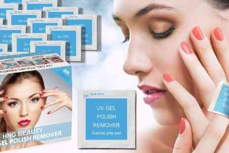 Runway Hair And Beauty - 200 gel nail polish removal wraps - Save 78%