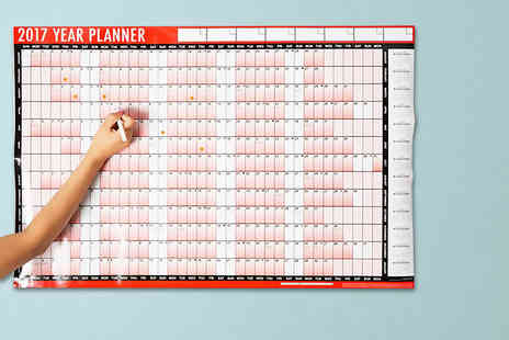 Zenith Wholesale - 2017 A1 laminated wall planner - Save 67%