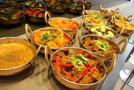 Charlie Chapatti - Two Course Indian Meal with Side and Drink for Up to Four - Save 64%