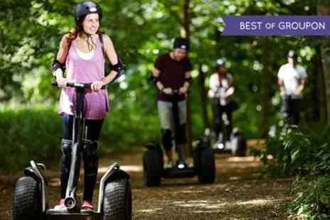 Segway Events - Segway Rally Experience for Two with Two Photo Prints - Save 50%