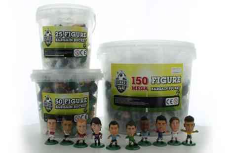 Groupon Goods Global GmbH - SoccerStarz 25, 50 or 150 Figure Bargain Bucket - Save 40%
