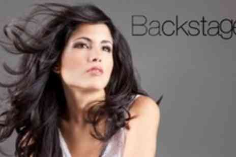 Backstage LA - Half Head of Highlights or Full Head of Colour Plus Wash, Cut, and Blow Dry - Save 61%