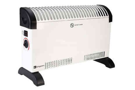 Ckent - Kingavon convector heater 2kW with three power settings - Save 41%