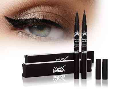Forever Cosmetics - Two liquid eyeliner pens - Save 79%