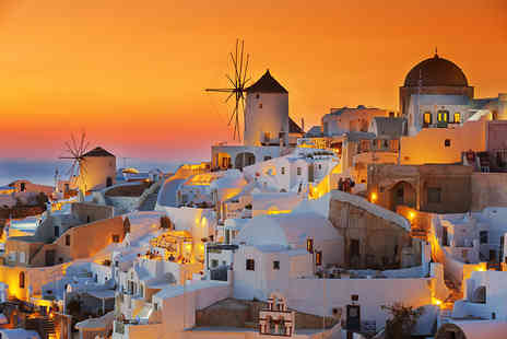 Tour Center - Six night Greece trip including flights and breakfast each day - Save 0%