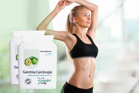 Real Protein - Three month supply of garcinia cambogia food supplements - Save 72%