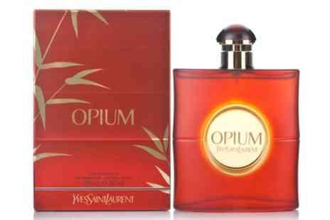 Groupon Goods Global GmbH - 50ml or 90ml Yves Saint Laurent Opium EDT Spray With Free Delivery - Save 16%