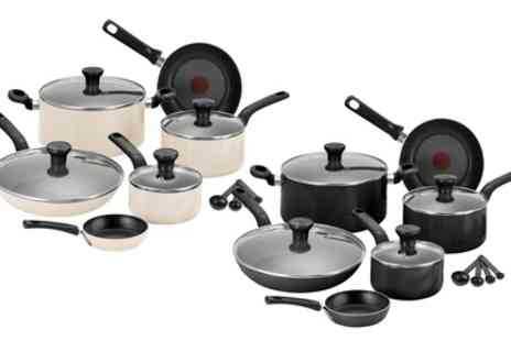 Groupon Goods Global GmbH - Tefal Excite Seven Piece Pan Set With Free Delivery - Save 69%