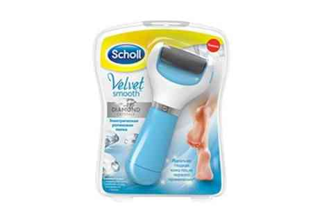 Groupon Goods Global GmbH - Scholl Velvet Smooth Express Pedi or Wet and Dry With Free Delivery - Save 0%