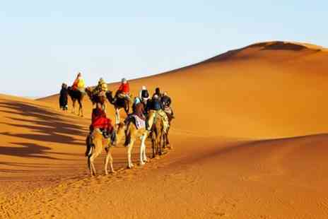 Clear Sky Holidays - Up to 4 Night Stay at a Choice of Hotels with Return Flights with Option for Camel Caravan Tour - Save 0%