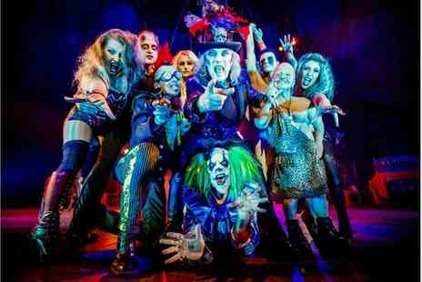 ATG Tickets - Ticket to Circus of Horrors, The Never Ending Nightmare - Save 50%