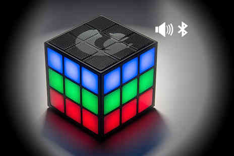 HCI Distribution - Goodmans Rubix cube style LED speaker - Save 63%