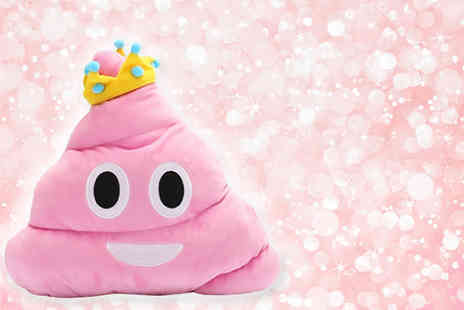 EF Mall - Princess poop emoji pillow - Save 74%