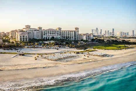 St Regis Saadiyat Island Resort - Five Star 7 nights Stay in a St Regis Suite - Save 70%