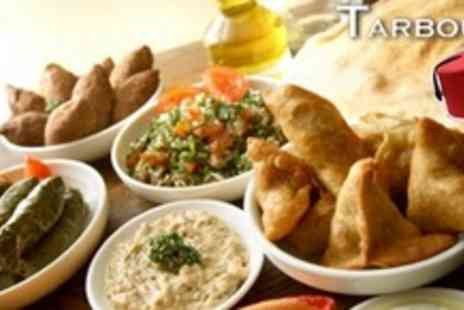 Tarboush - 10 Middle Eastern Meze Meal For Four With Baklava - Save 67%