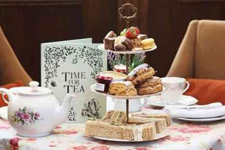 MacDonald New Blossoms Hotel - Historic Chester Hotel Afternoon Tea & Bubbly for 2 - Save 32%