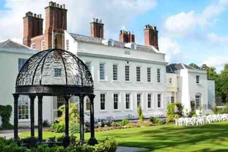 Haughton Hall Hotel & Leisure Club - Shropshire Country Hotel Stay with Dinner - Save 0%