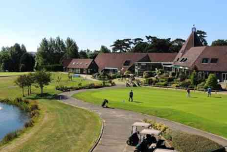 Ufford Park - Suffolk Stay with Breakfast & Bubbly - Save 0%