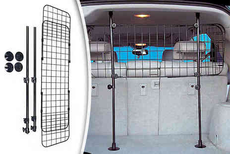 FDS Corporation - Deluxe pet guard adjustable safety barrier suitable for dogs and other pets - Save 56%