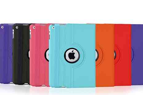 Groupon Goods Global GmbH - Rotating Case For iPad in Choice of Colour - Save 88%