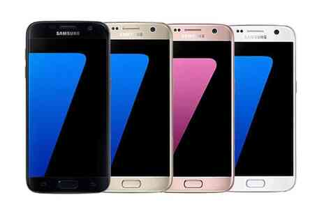 Chromevalue Holdings - Samsung Galaxy S7 Flat 32GB £33.49pm Contract with Unlimited Texts and 2GB Data With Free Delivery - Save 82%