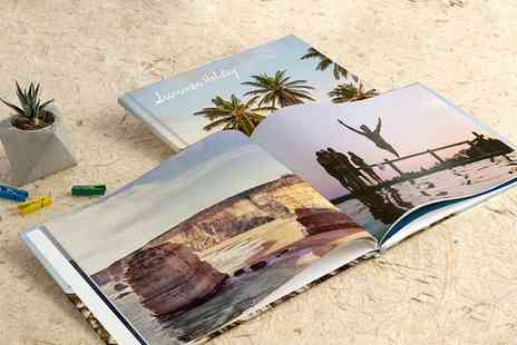 Photobook - 40 Page Personalised Imagewrap Hardcover Photobook - Save 87%