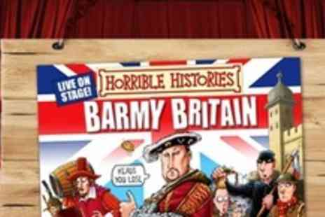 Horrible Histories - Two Premium Tickets - Save 52%