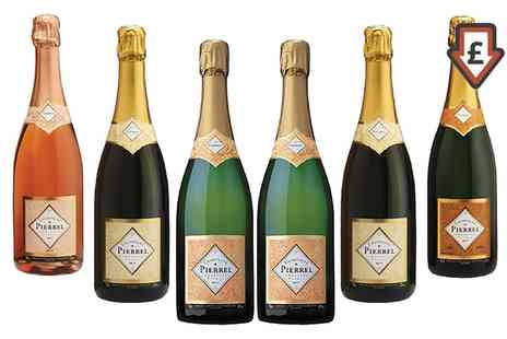 Karpe Deal SL - Six Bottles of Robert Pierell Champagne with Free Delivery - Save 35%