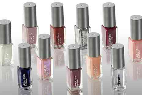 Groupon Goods Global GmbH - Pack of Ten or 20 Leighton Denny Assorted Nail Polishes - Save 69%