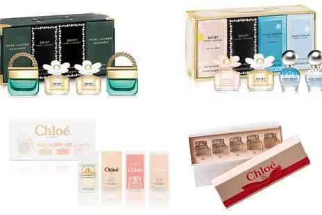 Groupon Goods Global GmbH - Versace, Marc Jacobs or Chloe Fragrance Miniatures Set With Free Delivery - Save 0%