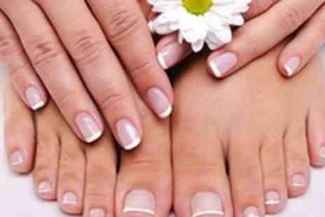 The Beauty Station - Luxury Jessica manicure and pedicure at popular west end salon - Save 57%