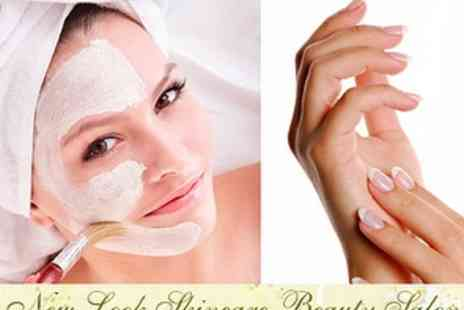 New Look Skin Care Beauty Salon - £19 Skin Brightening Facial and Manicure plus 50% off further treatments - Save 60%