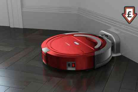 Groupon Goods Global GmbH - Pifco Self Rocking Robotic Vacuum Cleaner P28027 With Free Delivery - Save 67%