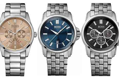 Groupon Goods Global GmbH - Hugo Boss Mens Watches With Free Delivery - Save 35%