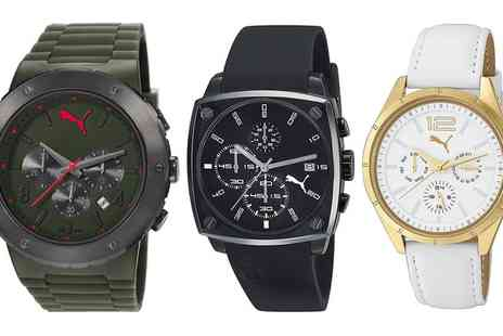 Groupon Goods Global GmbH - Puma Watches With Free Delivery - Save 62%