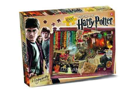 Groupon Goods Global GmbH - Two 1000pc Harry Potter Jigsaw Puzzles - Save 62%