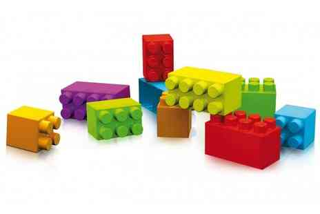 Groupon Goods Global GmbH - Kids Aloya Pack of 80 Giant Construction Bricks or 86 Giant Bricks With Free Delivery - Save 0%