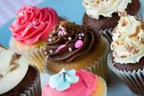 Cupcake Shizzle - Box of 12 cupcakes from the everyday selection - Save 60%