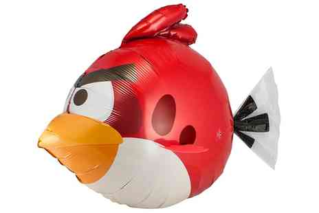 Groupon Goods Global GmbH - Angry Birds Turbo Remote Control Flying Bird Air Swimmer - Save 0%