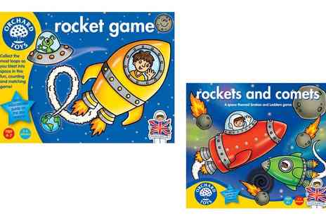 Groupon Goods Global GmbH - Orchard Toys Rocket or Rockets and Comets Games - Save 13%