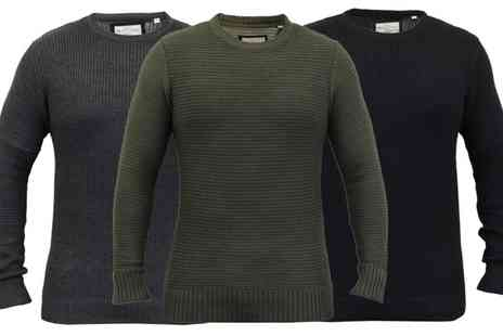 Groupon Goods Global GmbH - Brave Soul Mens Knitted Jumpers in Choice of Colour and Style - Save 0%