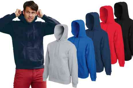 Groupon Goods Global GmbH - Mens Fruit of the Loom Classic One or Two Pack Hoodies - Save 0%