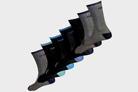 Groupon Goods Global GmbH - Mens Seven Weekdays Socks in Choice of Size - Save 54%