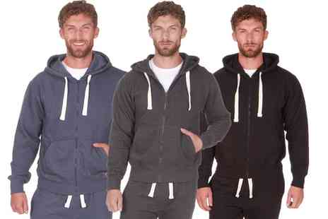 Groupon Goods Global GmbH - Mens Two Pack or Three Pack of Fleece Lined Hoodies - Save 0%