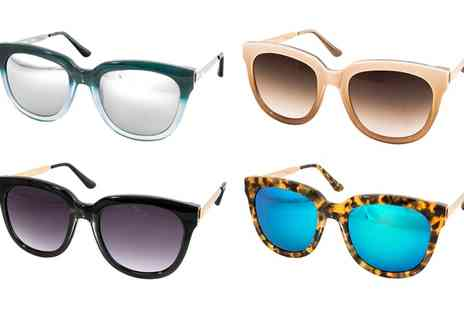 AQS Brand - AQS Womens Piper Sunglasses With Free Delivery - Save 90%